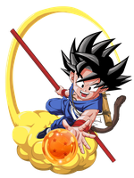 GOKU CHICO by BardockSonic