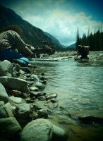 Gold Panning by ArcaneAffliction