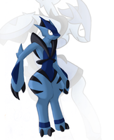 My first Mega Fakemon by Saronicle
