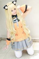 Vocaloid3 SeeU nyan by w2200354