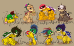 Koopalings and Junior by krystalfan-2