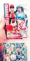 Kuroko no Basuke-Characters Bible by CaptainStrawberry