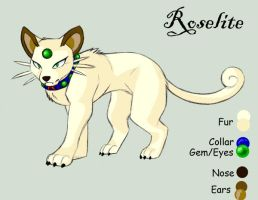 Roselite 2011 REF Sheet by KasaraWolf