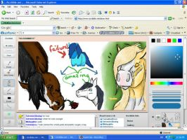 MORE ISCRIBBLE by CarnationRose