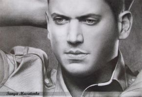 Wentworth Miller by TanyaMusatenko