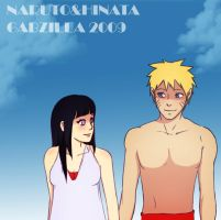 Naruhina - Summer 2009 by gabzillaz