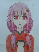 Inori Guilty Crown Fanart by MasteringAnimePL
