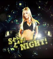 Flyer sexy ladies night by DisCal