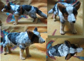 Bindi the Cattle Dog Plush Toy by Jarahamee