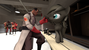 Medic is interested in Pegasi by ColoredGhost