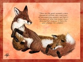 Togetherness by Silvixen