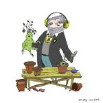 Slafka the Sloth on the Herbology lesson. by Anastaja-S