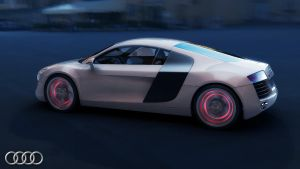Audi R8 render test 1 by view