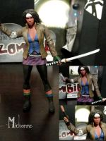 Michonne action figure by howsthatwork1