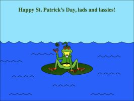 Saint Patrick's Day by platypus12