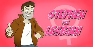 Stephen the Lesbian by Snibbletron