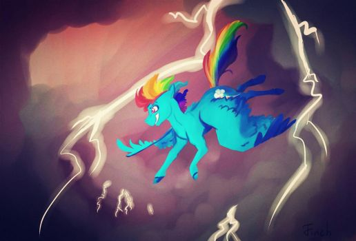 Rainbow Storm by FINCHina