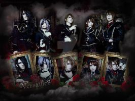 Versailles Rose Wallpaper by FerriHeiwajima