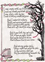 A Poison Tree by MMcintyre