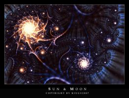 Sun and Moon by Kiug