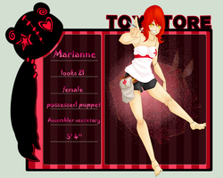 TS: Marianne by pockyboxes