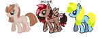 Little Ponies for sale!  Free :Closed: by jpmouse66