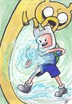 Adventure Time Attack sc by johnnyism