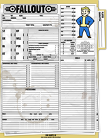 GURPS Fallout Sheet by Tensen01