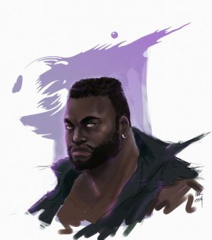 Barette Wallace FF7 by ninko-madison