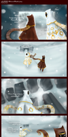 Journey: White and Whistler's Story Part 1 by VicZar-Skiekatsu