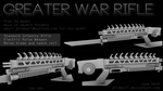 Greater War Rifle by primnull