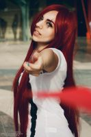 Katarina Red Car cosplay 1 by staisis-lovespurple