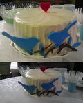 Bluebird Cake by Charis