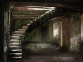 Lost stairs by Gaan