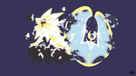Solgaleo and Lunaala Phrase Mode (Pokemon) by slezzy7