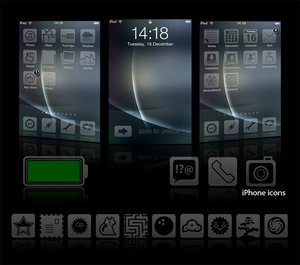 Glacies v1.1 - iPhone Theme