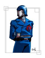 Cobra Commander - FC Commish by EryckWebbGraphics