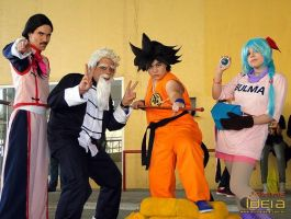 Dragon Ball Group by RobinYume