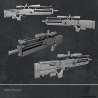 Walther WA 2000 Hires by sankalp23
