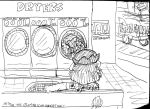 Lion Laundry by Artytoons