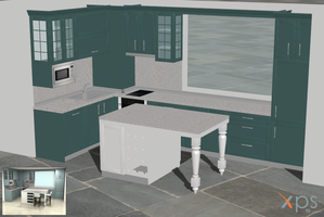 My Work - US style kitchen WIP by deant01