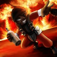 Prize 3: Demoman by Mellamo