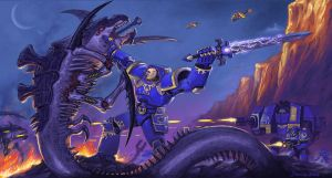 Ultramarines counterattack by Dolgopolov