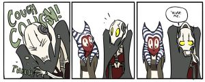 Grievous, Shaak Ti, + Manners by r2griff2