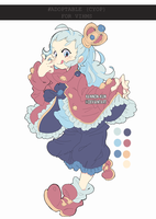 OTA/CYOP Royal Baby Adoptable [Colour Palette] by kanodraw