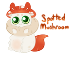 {CLOSED} Spotted Mushroom by Watermeowlon