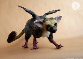 TRICO - The Last Guardian art doll by hikigane