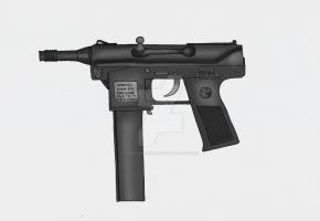 9mm Intratec TEC-9M Pistol by stopsigndrawer81