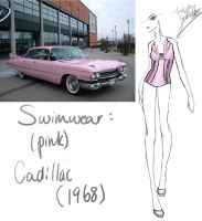 1968 (Pink) Cadillac by GL-Gloria