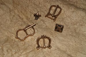 Buckles and studs by Nimpsu